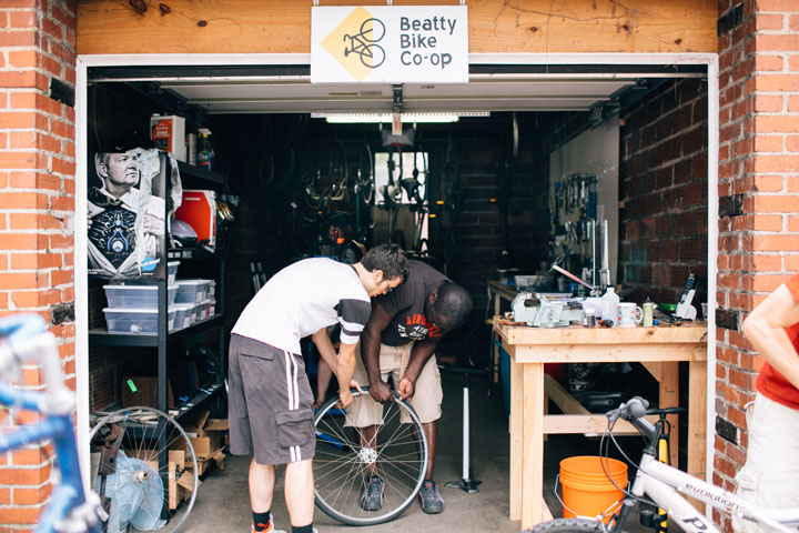 Beatty Street Bicycle Co-Op
