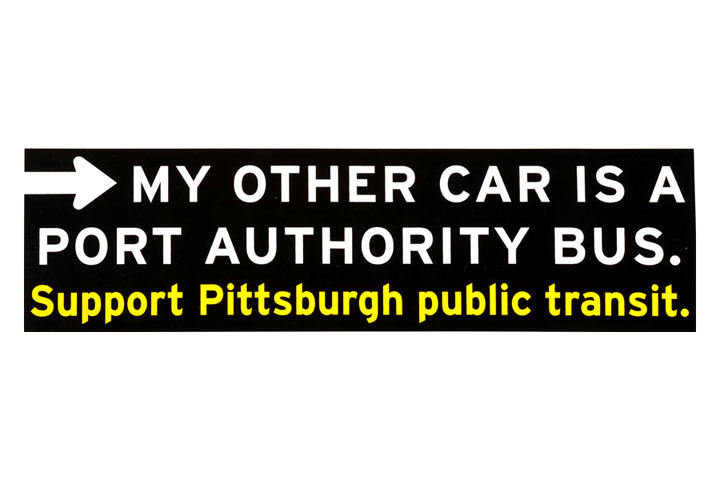 Support Mass Transit Bumper Stickers