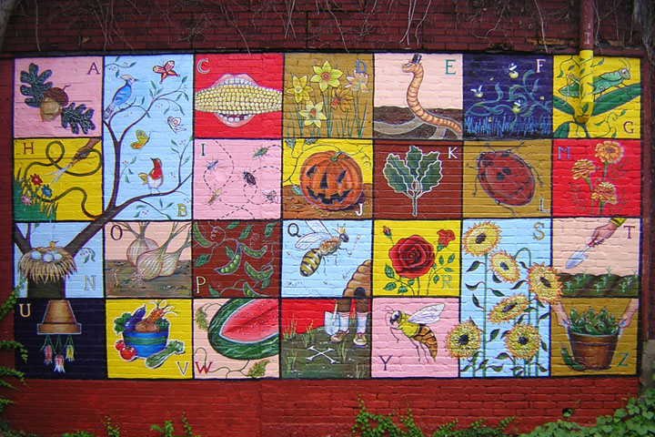 """Children's Alphabet Garden"" (2004)"